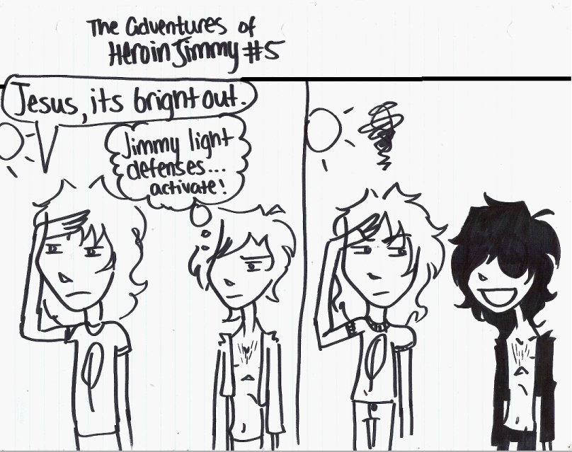 Adventures of Heroin Jimmy 5 by electricsorbet