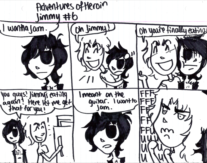 Adventures of Heroin Jimmy 6 by electricsorbet