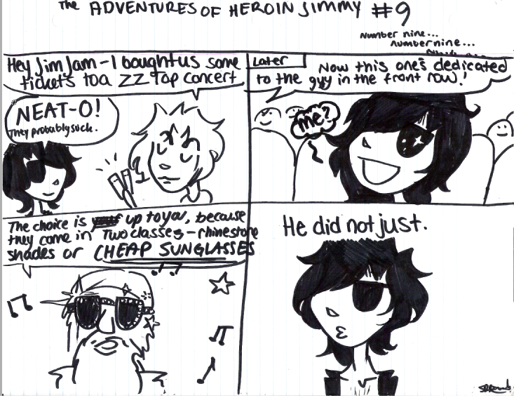 Adventures of Heroin Jimmy 9 by electricsorbet