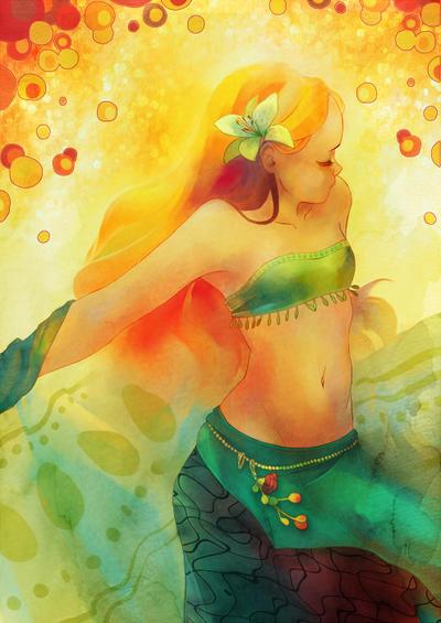 Danse avec le soleil by Rozenng