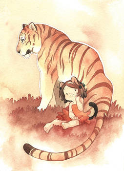 Cerise and Tiger