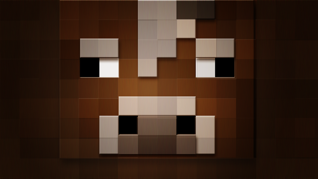 minecraft Cow BG by akitasilverwolf