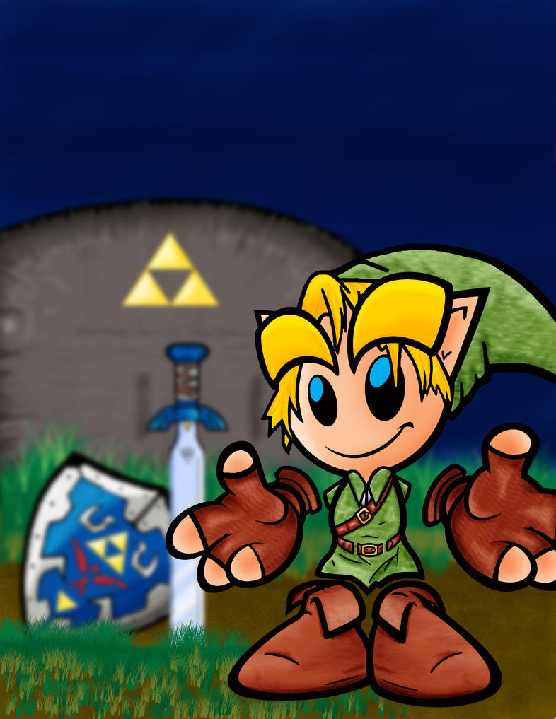 Fella as Link by alebad