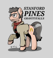 Stanford Pines Ponify by Z-Y-C