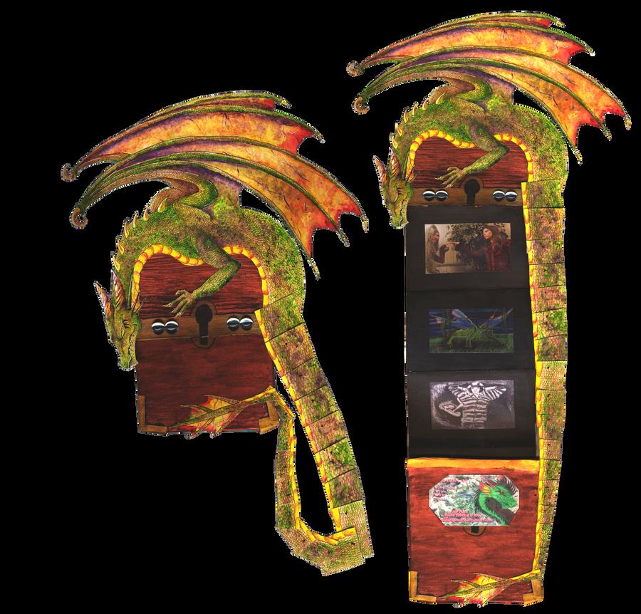 Dragon Treasure by The-Emerald-Dragon