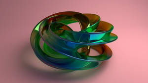 Colored Glass Sculpt