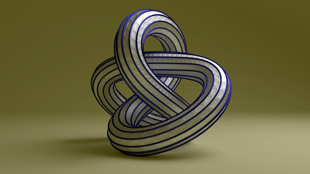 Torus Knot 731 by AnthonyRalano
