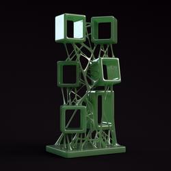 Bridged Boxes Jade