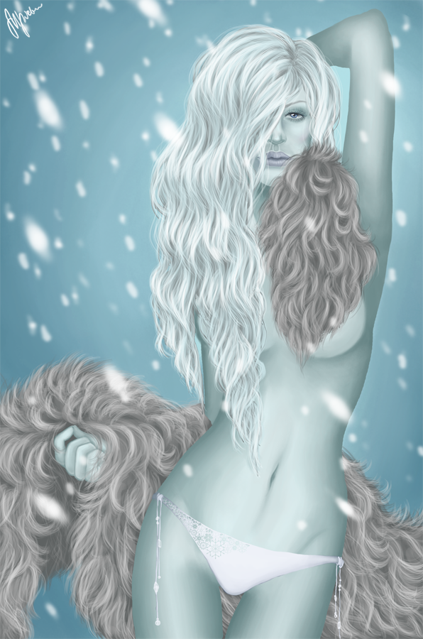Month of the Ice: Caoiliainn by barn-swallow