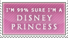 Disney princess stamp by barn-swallow