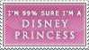 Disney princess stamp by barn-swallow