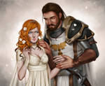 Commission: Milirana and Theodore