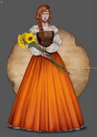 OC color series: Orange
