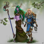 Commission: Syandria and Cassima