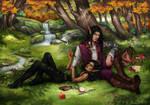 Commission: Alester and Shay'nara