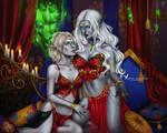 Commission: Senara and Silvarlia