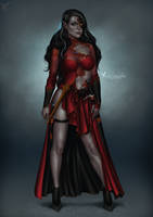 Commission: Melandra by barn-swallow