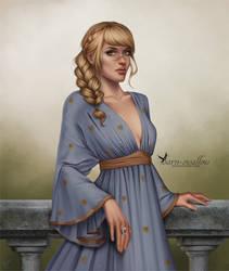 Gift Art: Marian Hawke by barn-swallow