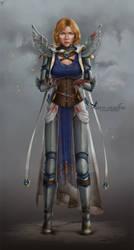 Commission: Leedra by barn-swallow