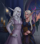Commission: Thalyndrae and Niamh
