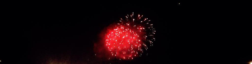 Red Fireworks by kotaksampah