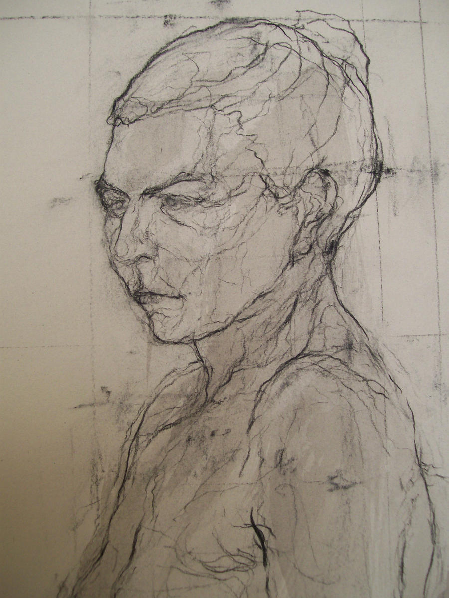 Female Figure Drawing Model