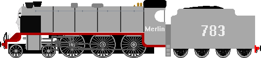 Merlin The LSWR N15 by Meboy251867
