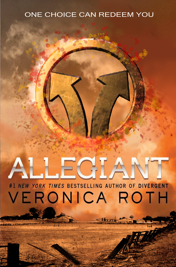 Divergent Book Cover Drawing ~ Allegiant divergent cover by octaviana on deviantart