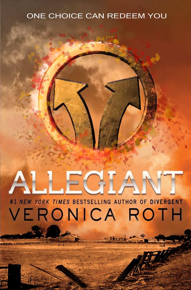 Allegiant (Divergent #3) cover by Octaviana