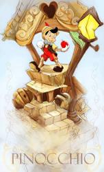 Pinocchio by JohnDevlin