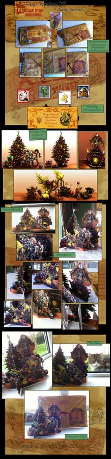 Final Fantasy IX Christmas Card