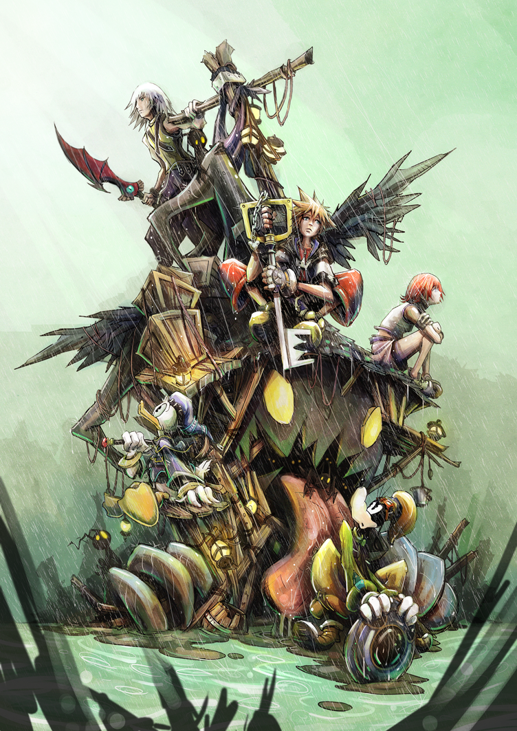 Kingdom Hearts by JohnDevlin