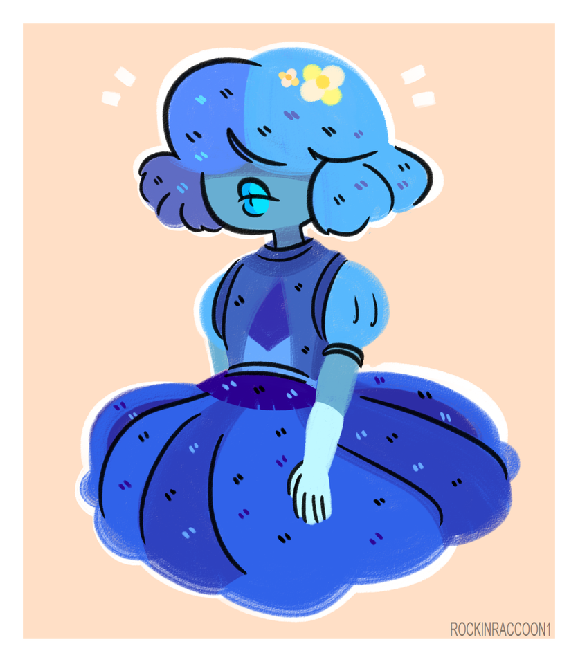 I've seen a couple of drawings of short haired Sapphire floating around and what can I say, I'm obsessed