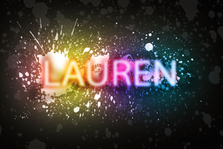 Spray Paint Text- Photoshop by laurennicole5117 on DeviantArt