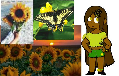 Mystery Sunflower Aesthetic Adopt REVELED by Smol-Spoomy
