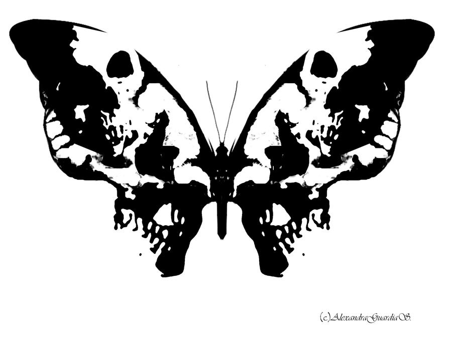 inkblot butterfly by alexndhearted on deviantart. Black Bedroom Furniture Sets. Home Design Ideas