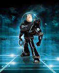 Tron - Buzz enters the Grid