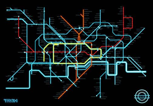Tron - Tube Map