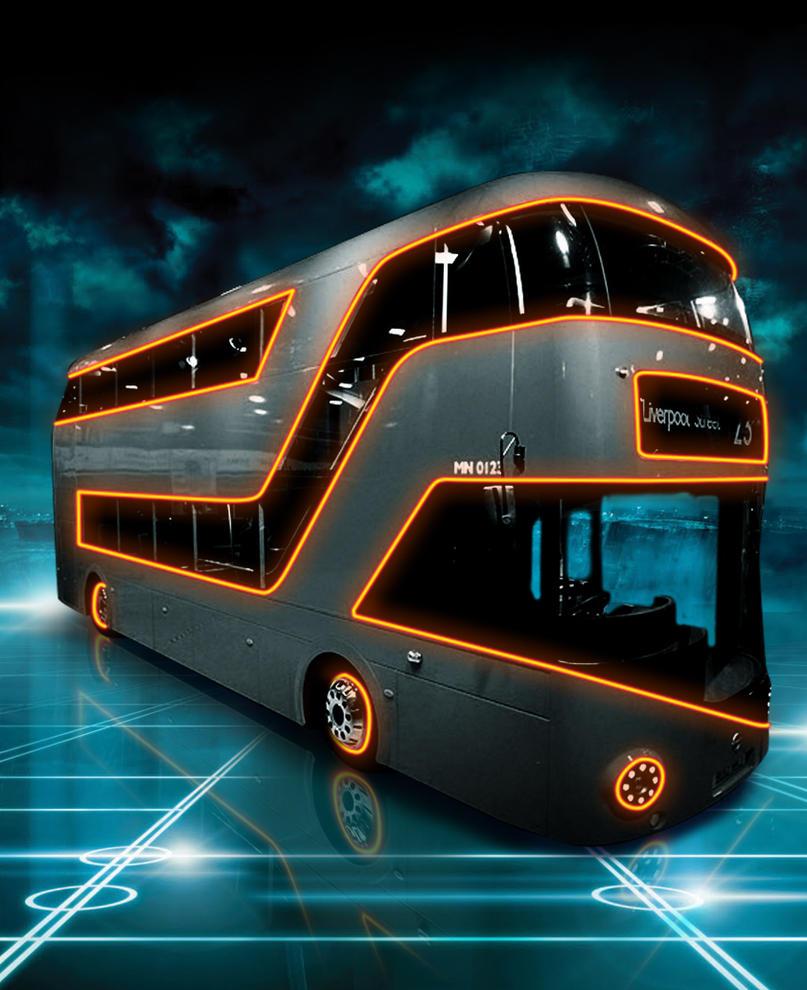 Tron - Bus by iamclu