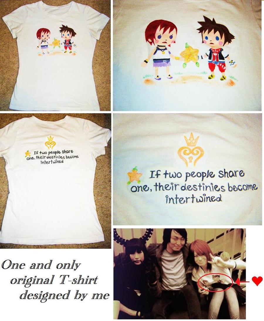 kairi 's Kingdom Hearts T by mayumi-loves-sora