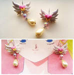 Sailor Moon Inspired Magical Earrings