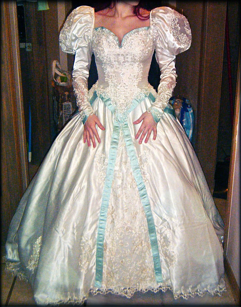 Ariel\'s wedding dress cosplay by mayumi-loves-sora on DeviantArt