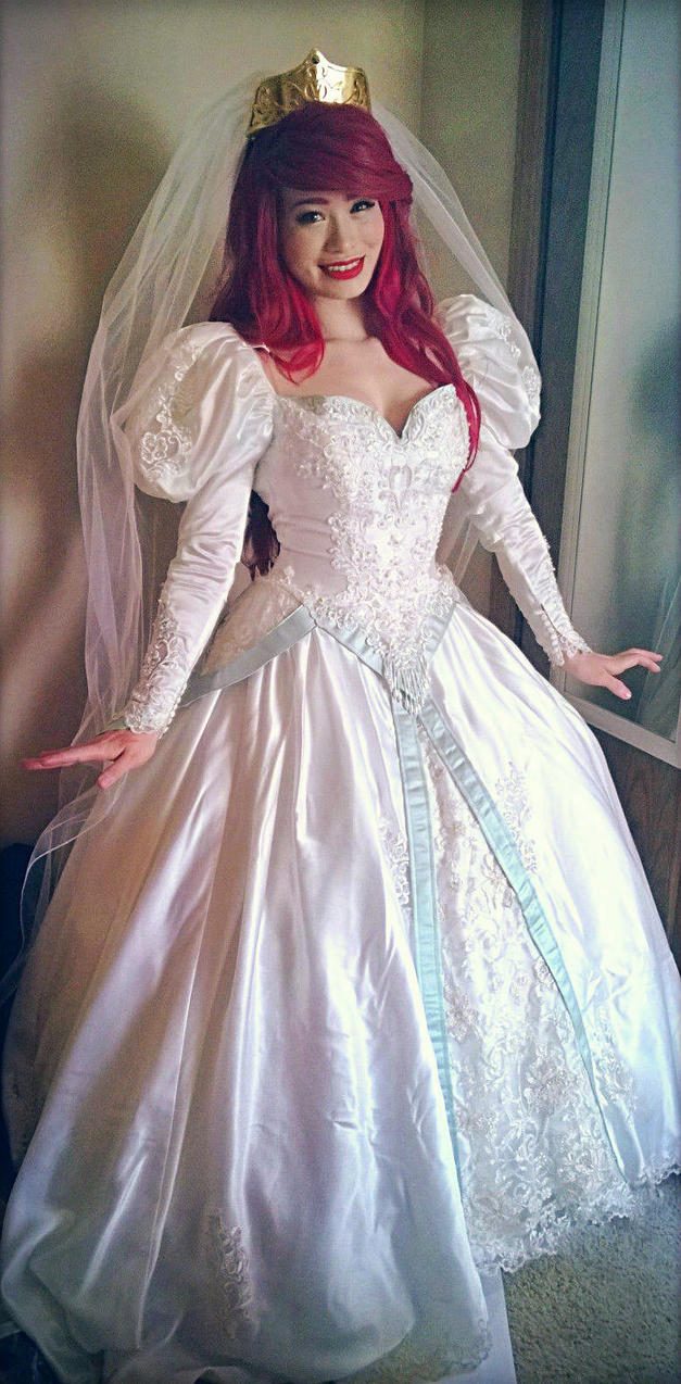 Ariel Wedding Dress By Mayumi Loves Sora On DeviantArt