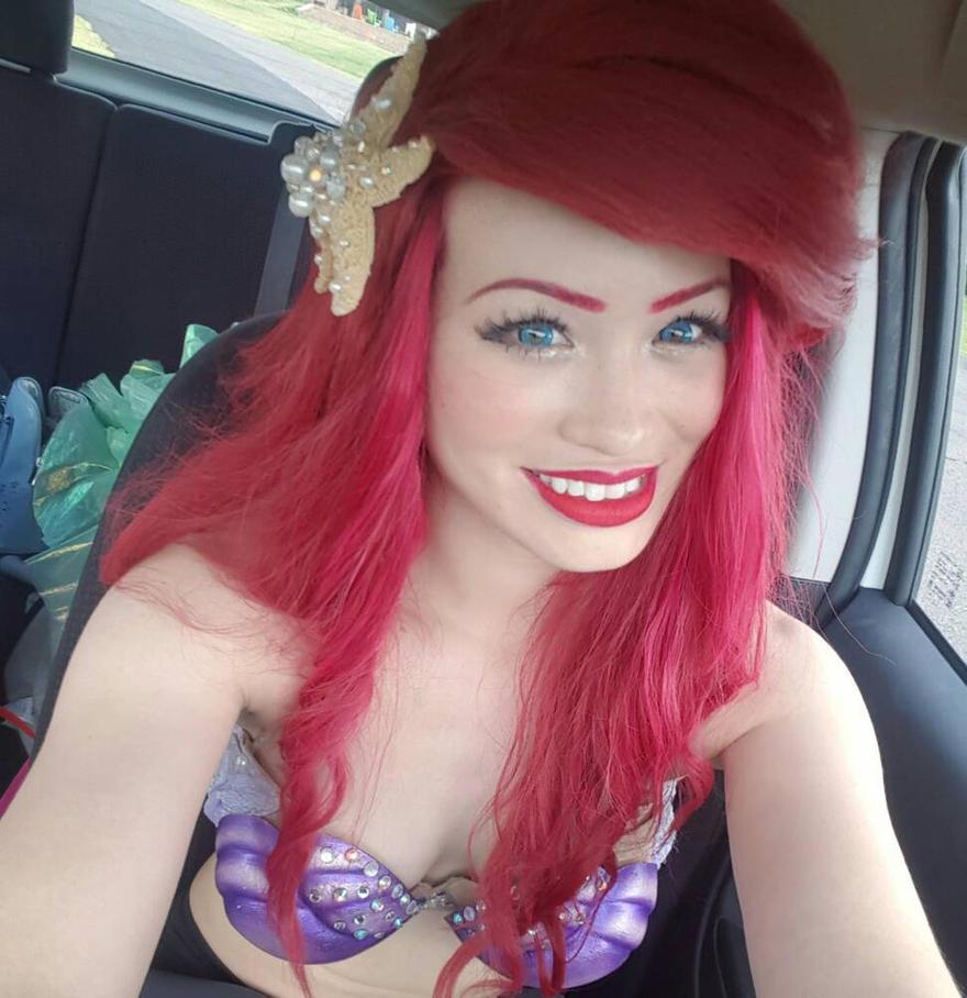 Ariel cosplay  by mayumi-loves-sora