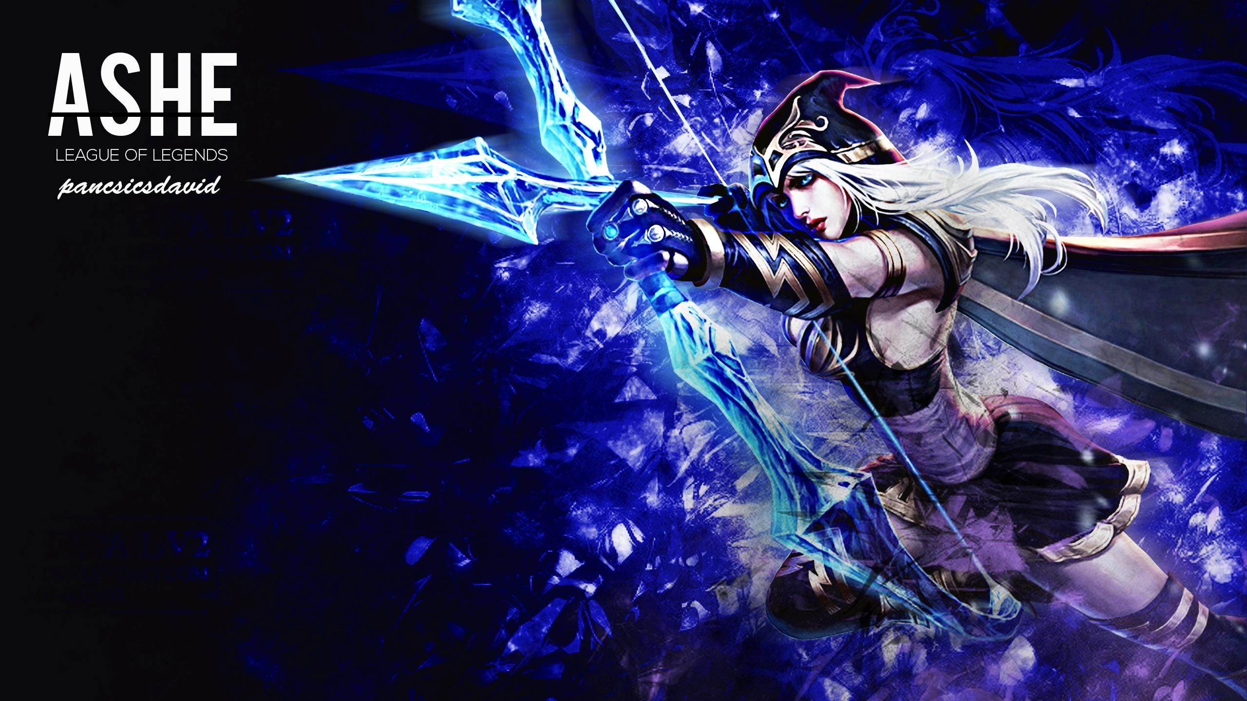 Ashe Wallpaper League Of Legends - As...