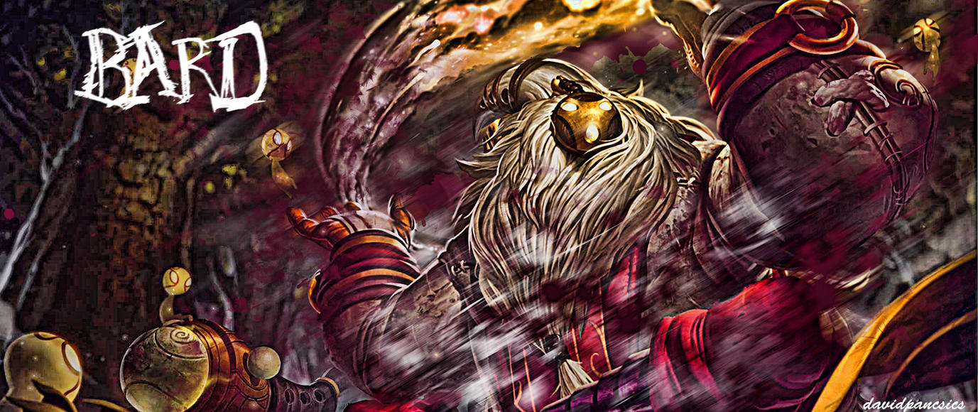 Bard Minimalistic League Of Legends Wallpapers League Of: Bard Wallpaper By Pancsicsdavid On