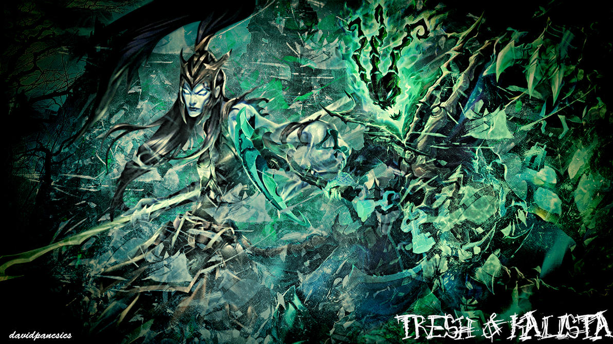 Kalista League Of Legends Minimalist Wallpaper By: Kalista Tresh Wallpaper By