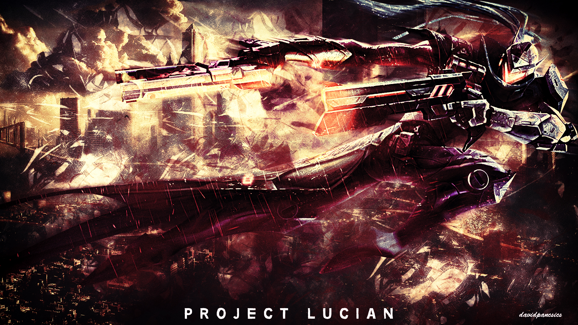 League Of Legends - PROJECT Lucian wallpaper by ...