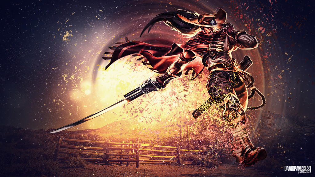 high noon yasuo hd wallpaper by davidpancsics by