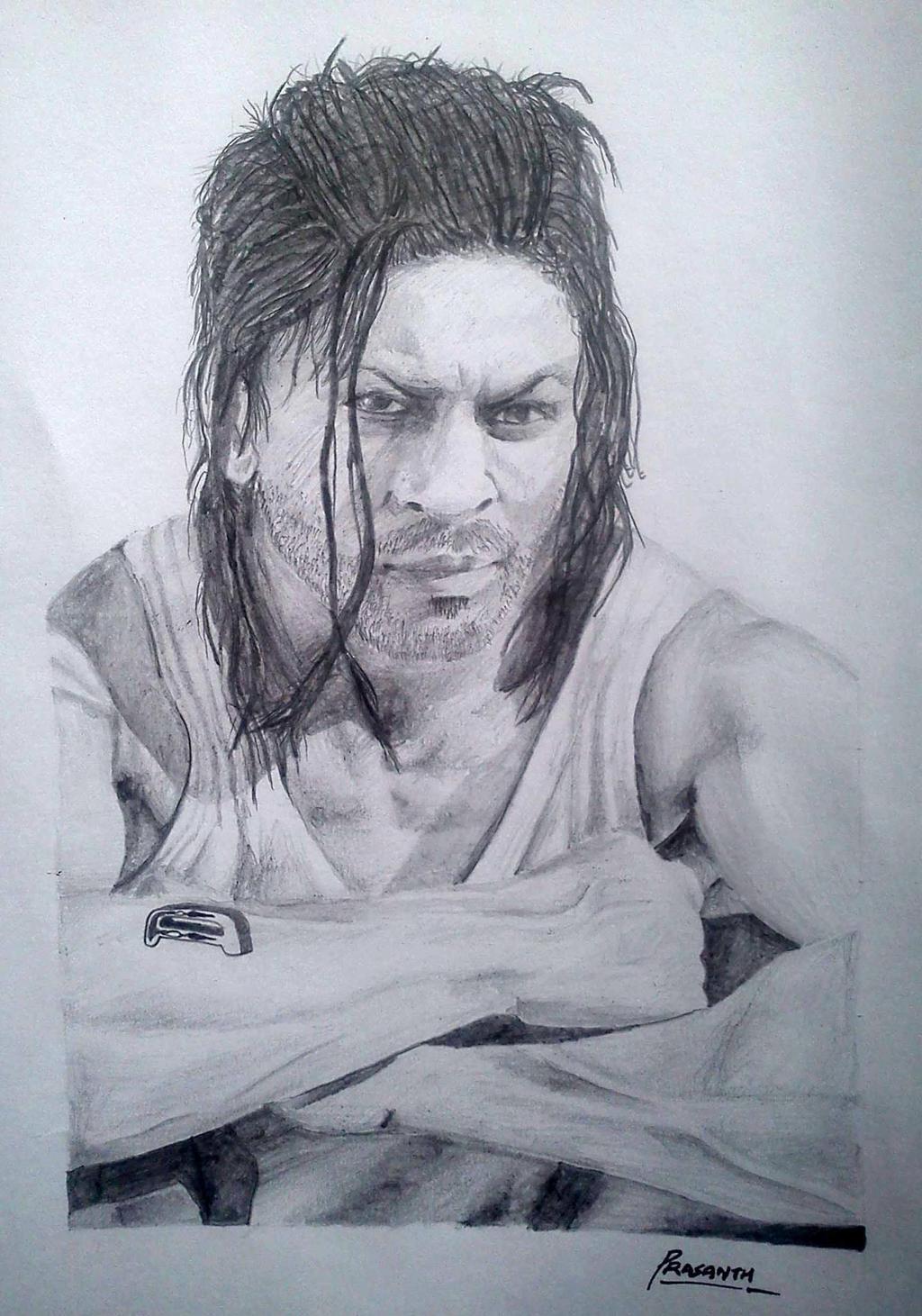 Shahrukh Khan by Prasanthprakash on DeviantArt